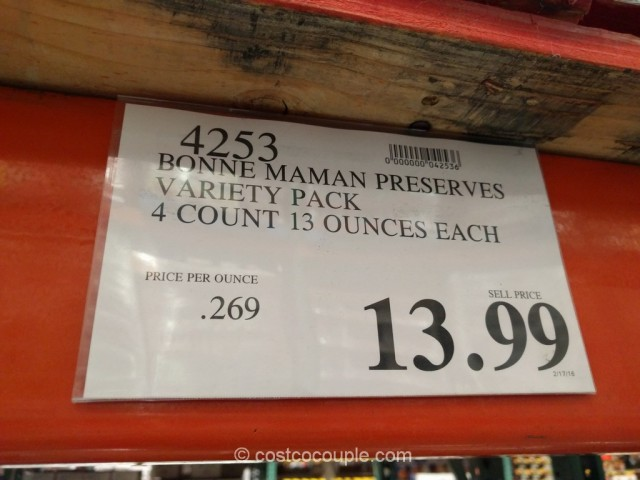 Bonne Maman Preserves Variety Pack Costco 1