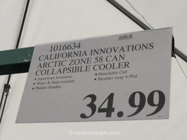 California Innovations Collapsible Rolling Cooler Costco 1