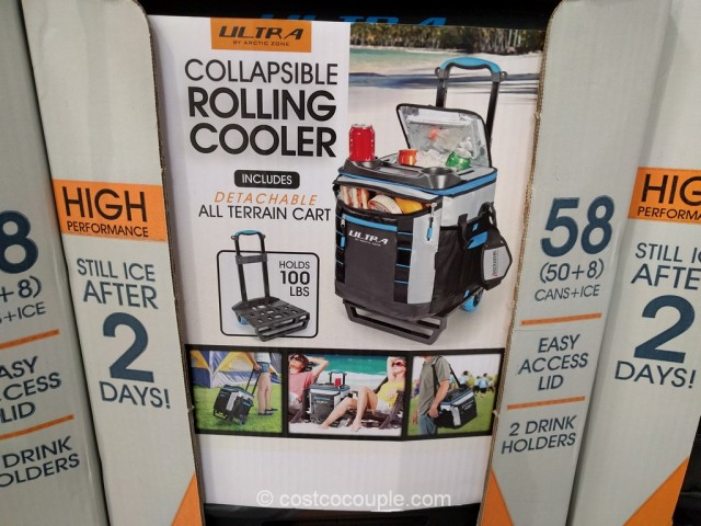 California Innovations Collapsible Rolling Cooler Costco 4