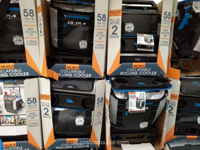 California Innovations Collapsible Rolling Cooler Costco 8