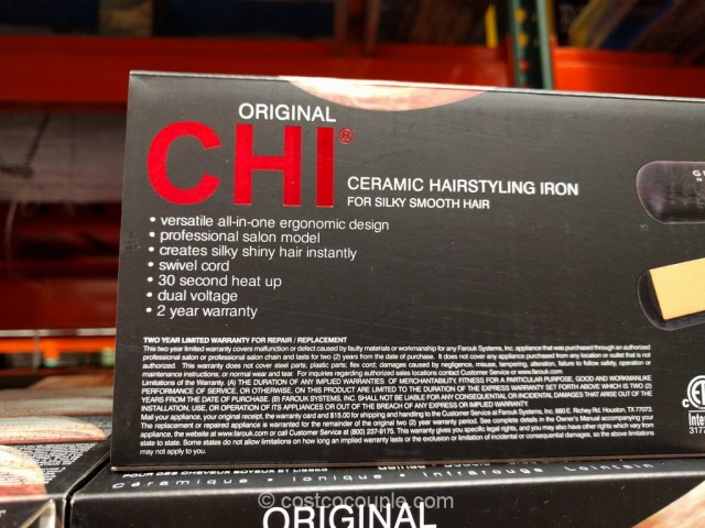 Chi Original 1 Inch Ceramic Flat Iron