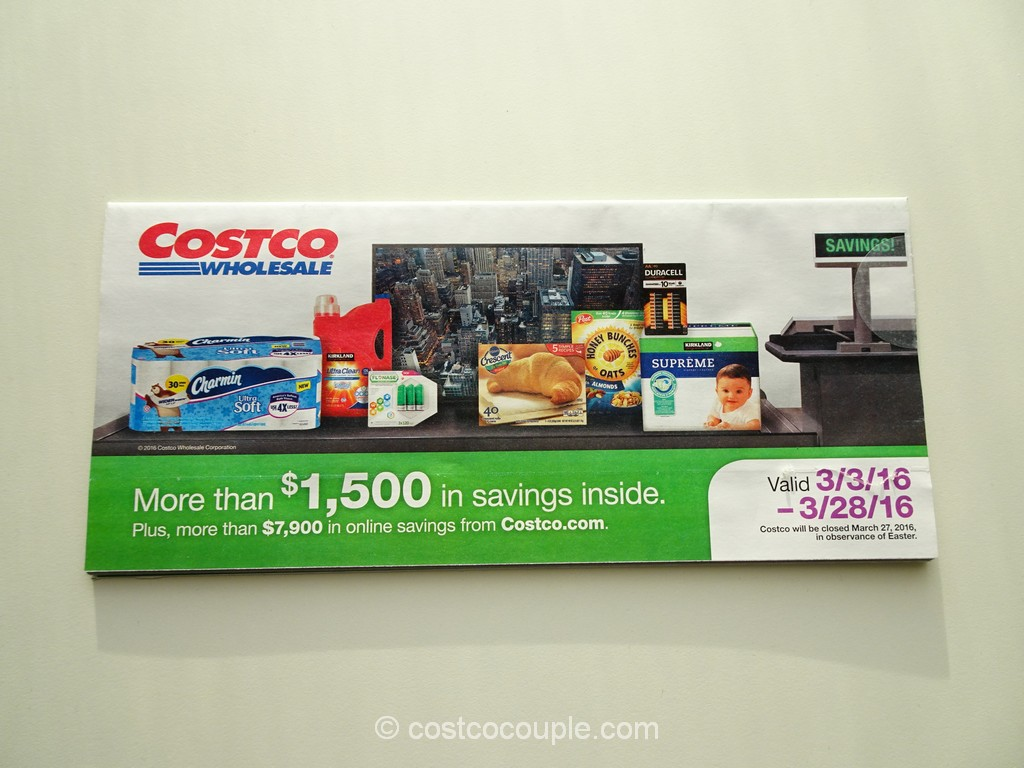 Costco March 2016 Coupon Book 1