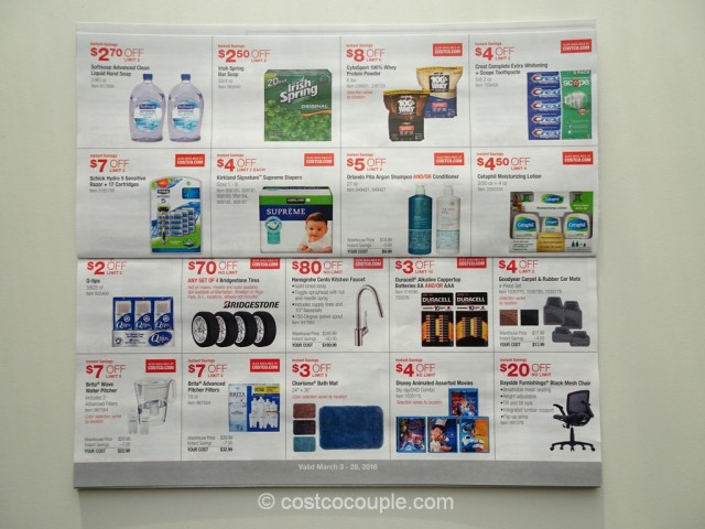 Costco March 2016 Coupon Book 4
