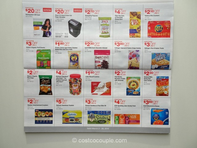 Costco March 2016 Coupon Book 5