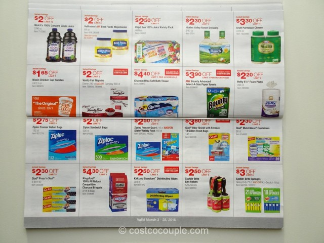 Costco March 2016 Coupon Book 6