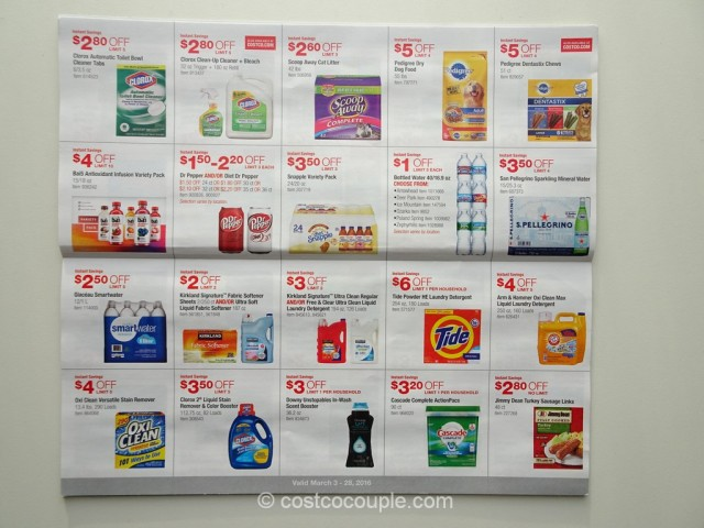 Costco March 2016 Coupon Book 7