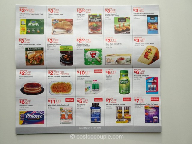 Costco March 2016 Coupon Book 8