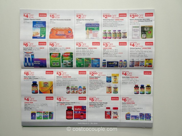Costco March 2016 Coupon Book 9