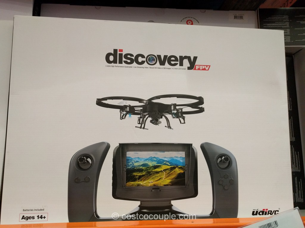 Discover FPV High Performance RC Quadcopter Costco 2