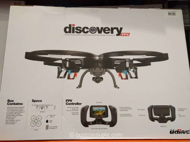 Discover FPV High Performance RC Quadcopter Costco 7