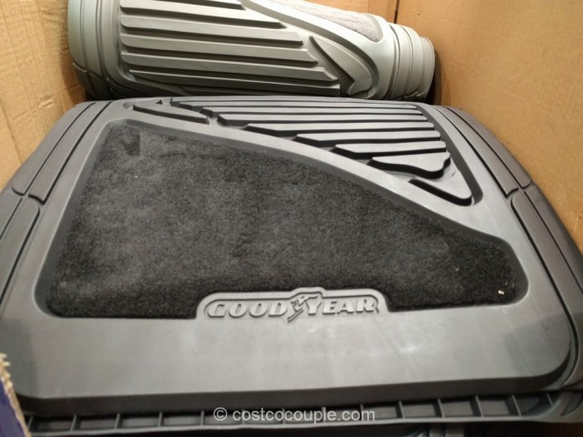 GoodYear 4-Piece Car Mat Set Costco 2