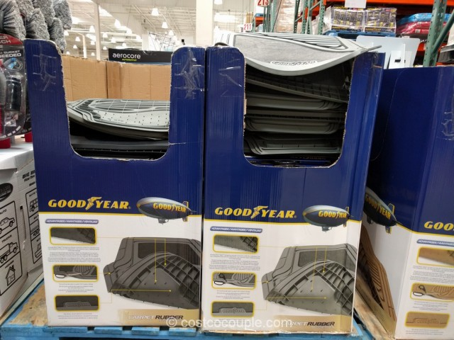 GoodYear 4-Piece Car Mat Set Costco 7