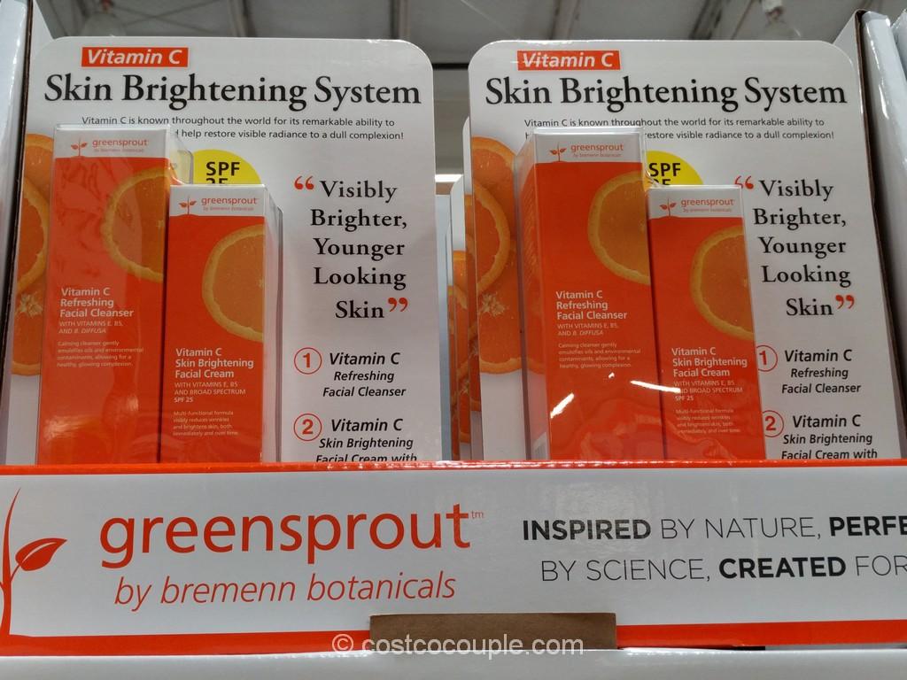 Greensprout Vitamin C Skin Brightening System Costco 2