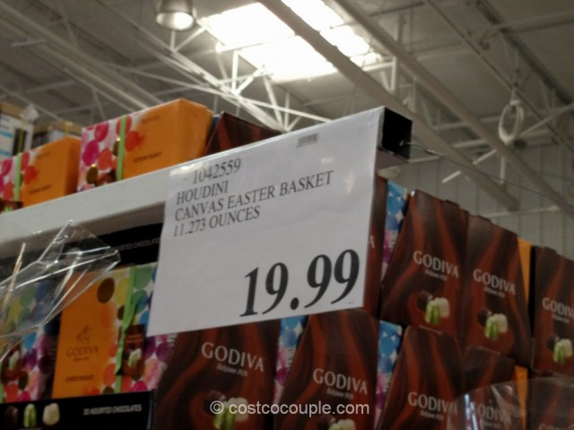 Houdini Canvas Easter Basket Costco 1