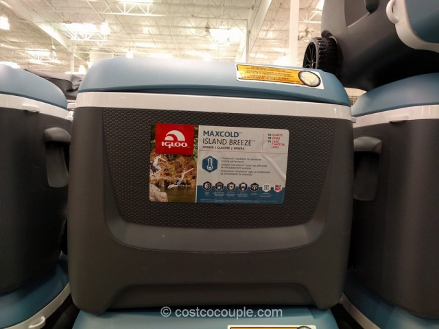 Igloo Maxcold Island Breeze Rolling Cooler Costco 2
