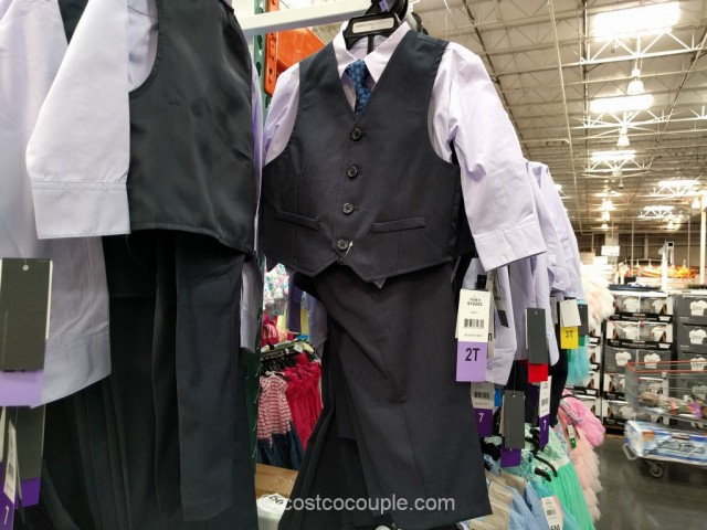 Kenneth Cole Boys 4-Piece Suit Set Costco 4