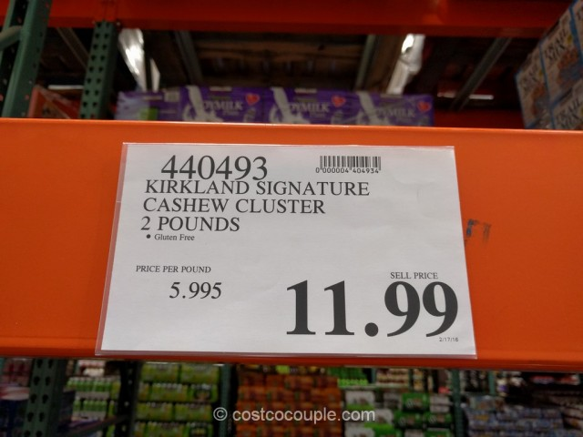 Kirkland Signature Cashew Cluster Costco 1