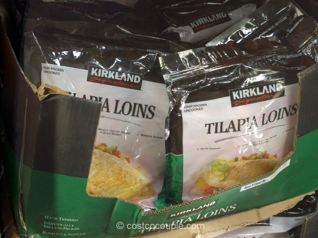 Kirkland Signature Farmed Tilapia Loins Costco 2