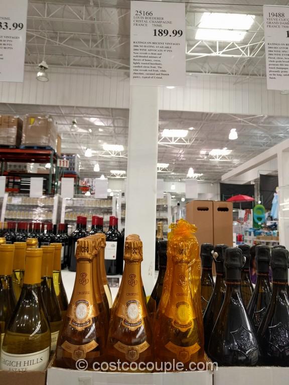 Cristal Champagne Costco