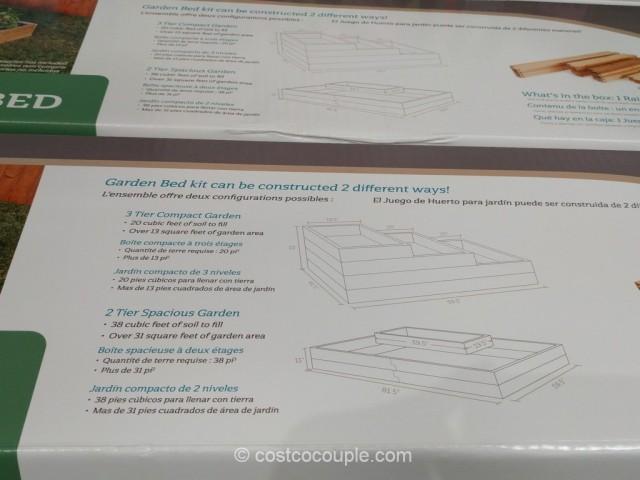 Lapp Structures Raised Garden Bed Costco 6