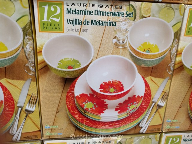 Laurie Gates Melamine Dinnerware Set