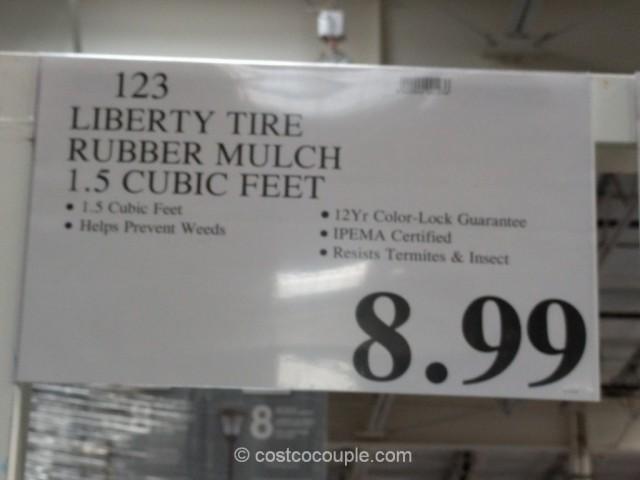 Liberty Tire Rubber Mulch Costco 1