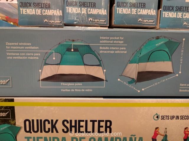 Lightspeed Quick Shelter Costco 6