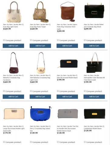 Marc by Marc Jacobs Handbags Costco 1