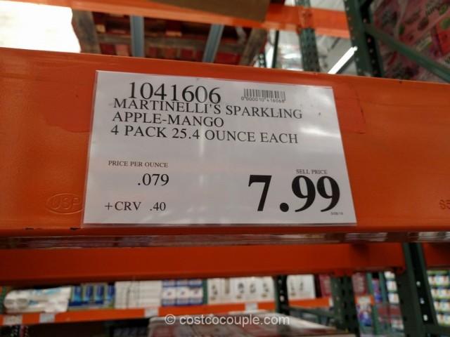 Martinellis Sparking Apple Mango Costco 1