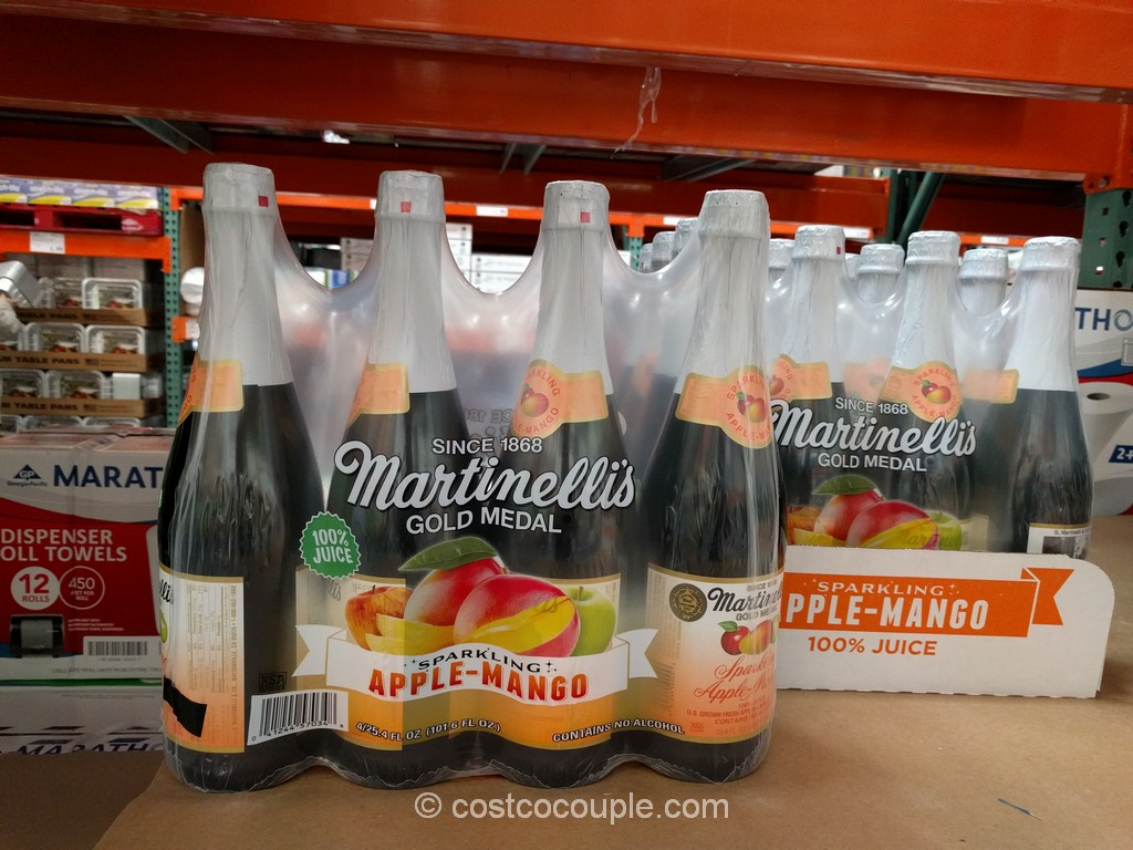 Martinellis Sparking Apple Mango Costco 3