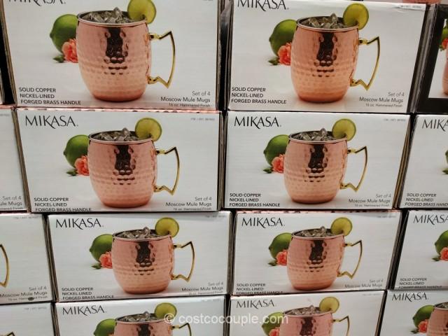 Mikasa Moscow Mule Mugs