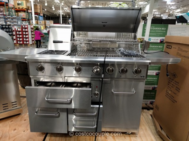 NXR 7 Burner Gas Grill Costco 2