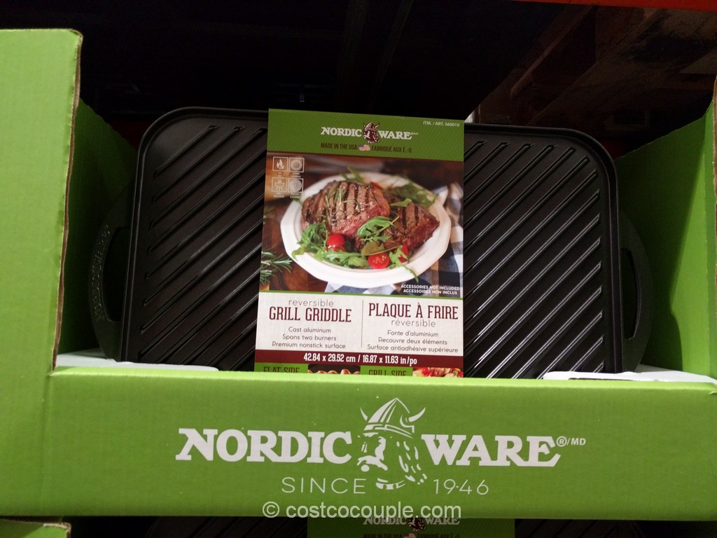 Nordic Ware Reversible Grill Griddle Costco 2