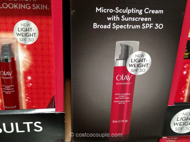 Olay Regenerist Micro-Sculpting Cream With Sunscreen Costco 3