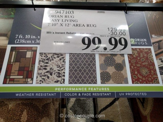 orian easy living rug costco 5
