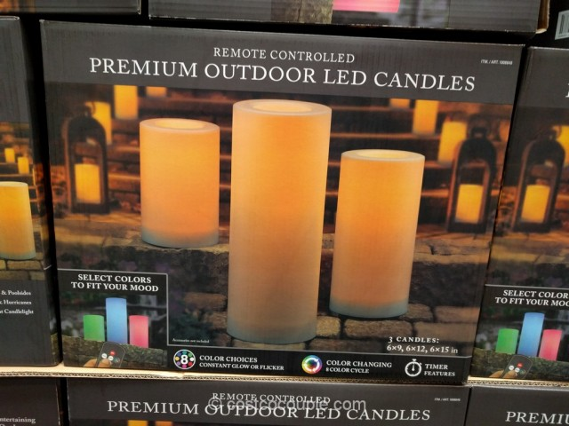 Premium Outdoor Led Candles