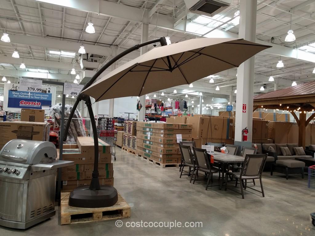 Timber ridge zero gravity lounge chair proshade parasol cantilever