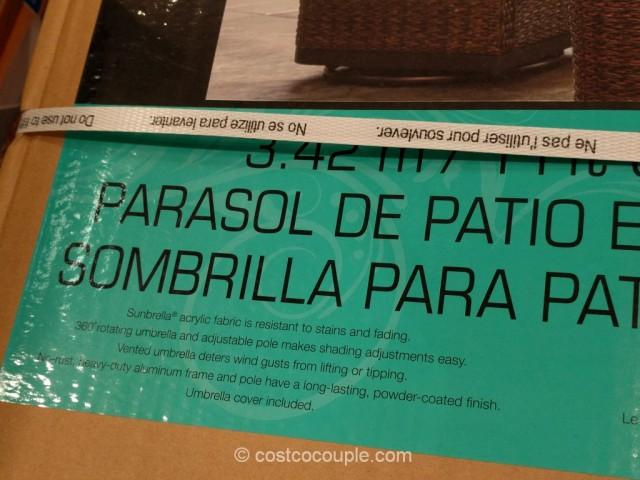 Proshade Parasol Cantilever Umbrella Costco 5