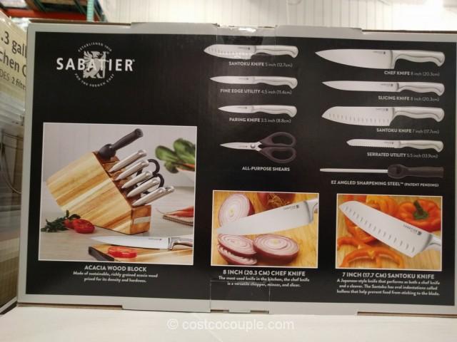 Sabatier 10 Piece Stainless Steel Cutlery Set