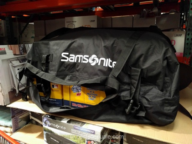 Samsonite Waterproof Roof Top Cargo Carrier Costco 2