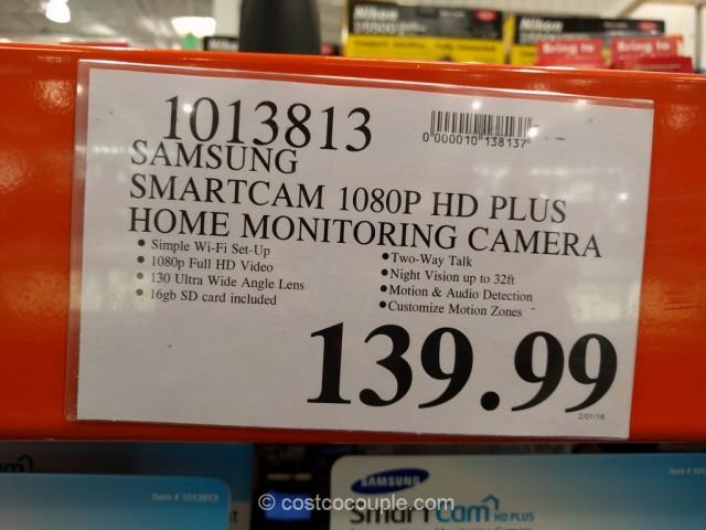 Samsung SmartCam HD Plus Home Monitoring Camera Costco 1