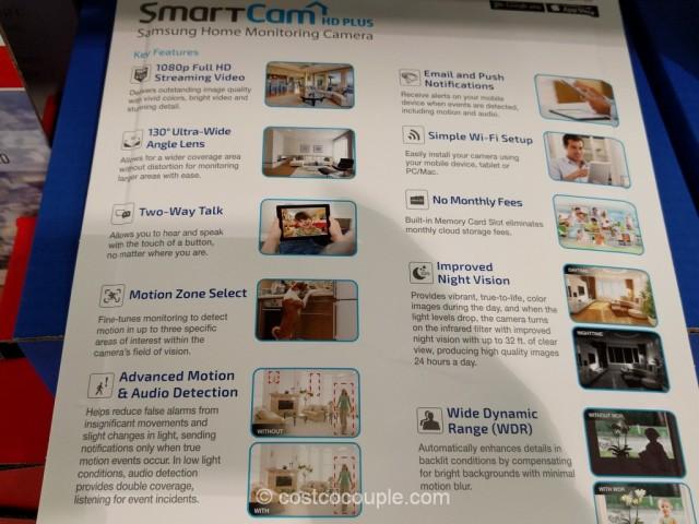 Samsung SmartCam HD Plus Home Monitoring Camera Costco 5
