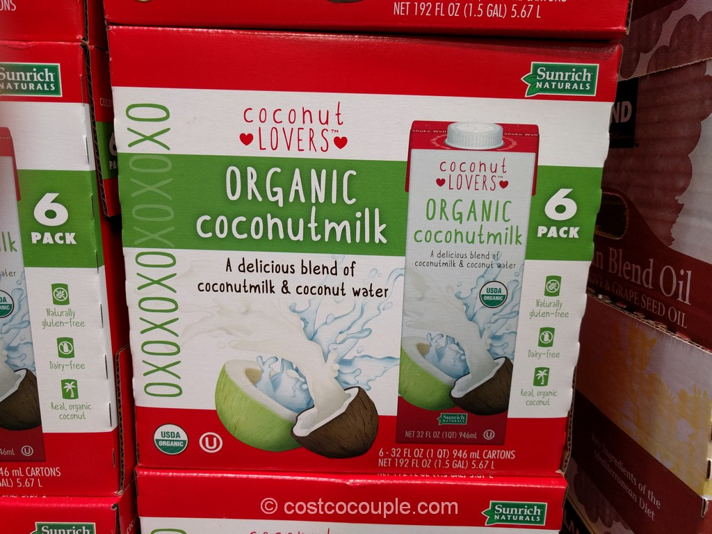 Sunrich Naturals Organic Coconut Milk Costco 2