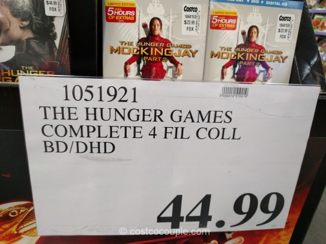 The Hunger Games Complete Collection Costco 1