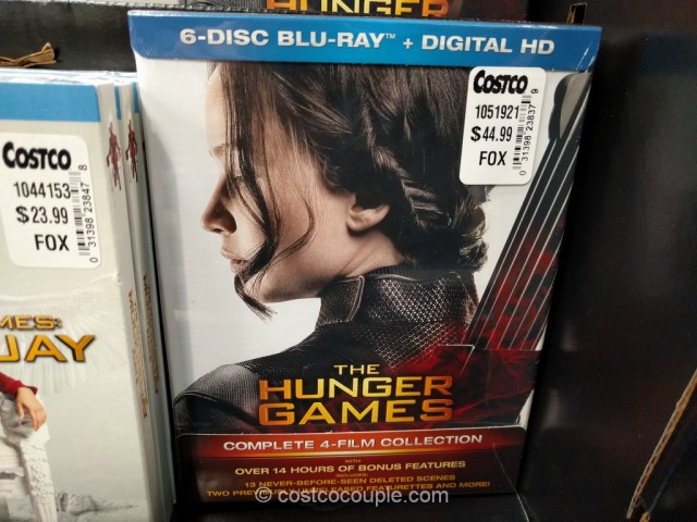 The Hunger Games Complete Collection Costco 2