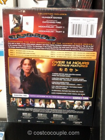 The Hunger Games Complete Collection Costco 3