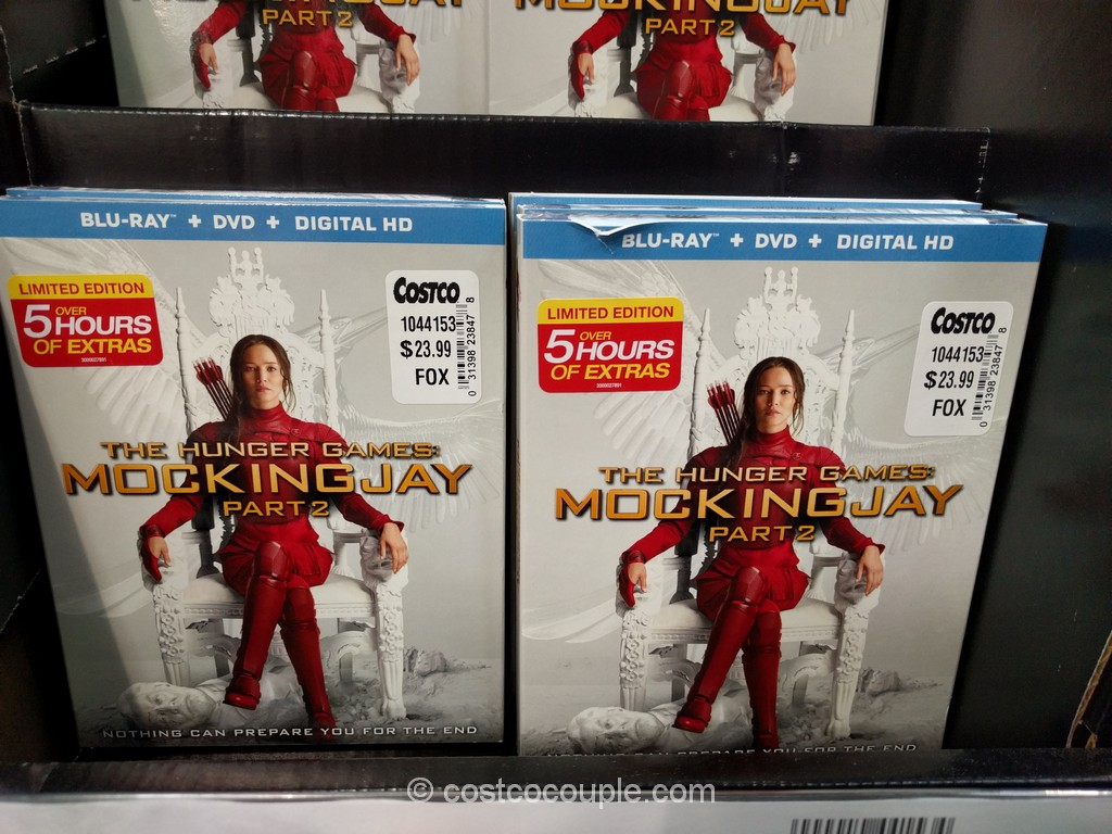 The Hunger Games MockingJay Part 2 Costco 1