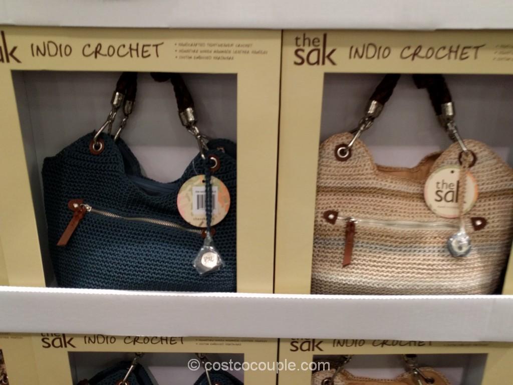 The Sak Indio Crochet Satchel Costco 4