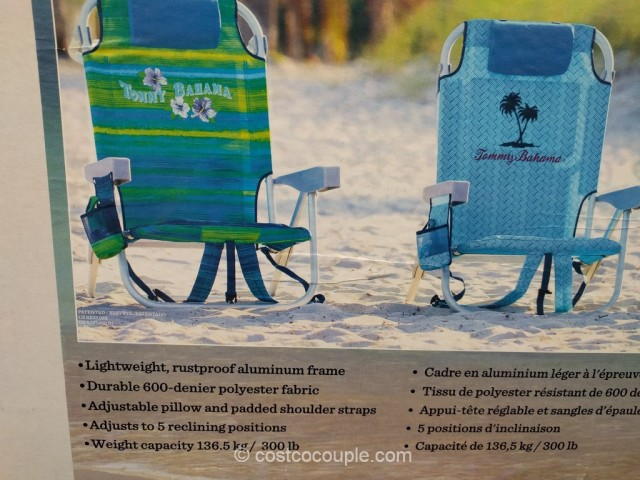 Tommy Bahama Backpack Beach Chair Costco 3