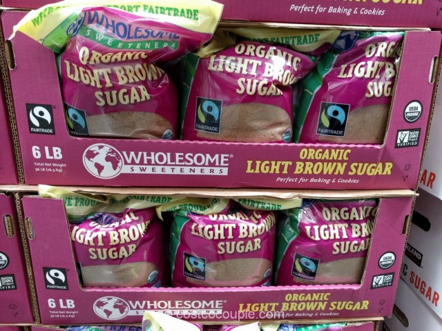 Wholesome Sweeteners Organic Light Brown Sugar Costco 2